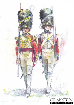 Grenadiers, 1829 by Mark Churms. (P)