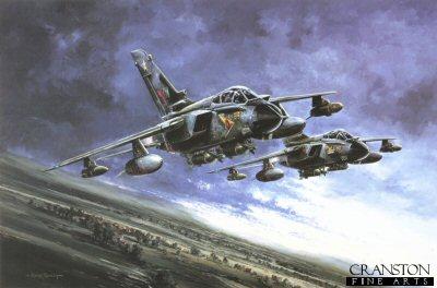 Paveway Tornados by Michael Rondot.