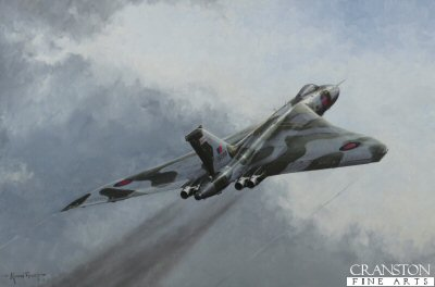 Vulcan  XH558, The Loved One by Michael Rondot.