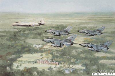 The Marham Wing Over Sandringham by Michael Rondot.