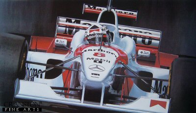 David Coulthard by Michael Thompson.