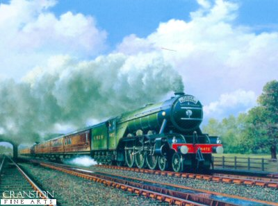 Flying Scotsman by Barry Price