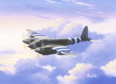 De Havilland Mosquito by Barry Price.
