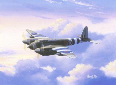 De Havilland Mosquito by Barry Price.