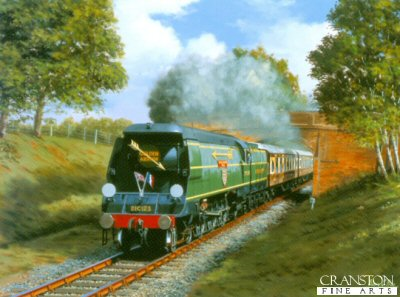 Blackmoor Vale - Golden Arrow by Barry Price