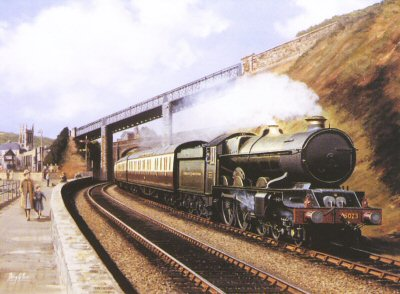 King Edward II at Teignmouth by Barry Price.
