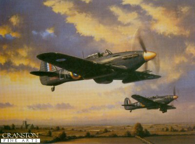 Hurricane MK11C Night Fighters by Barry Price.