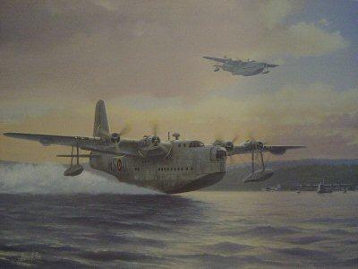 Sunderlands 1944 by Barry Price.