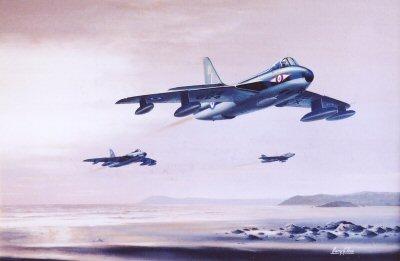 Hunters F(GA) Mk9 by Barry Price.