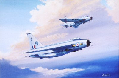 Lightnings F6 by Barry Price.