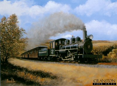 Baldwin at Brecon Mountain Railway by Barry Price.