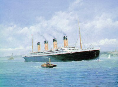 The Titanic by Chris Woods.