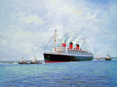 The Queen Mary by Chris Woods.