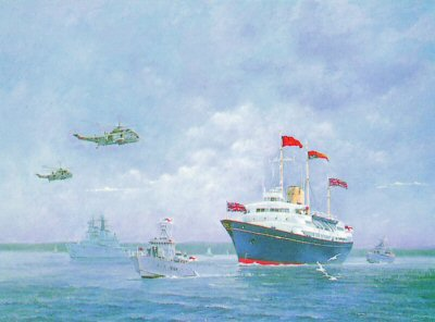 Britannia & Escort by Chris Woods.