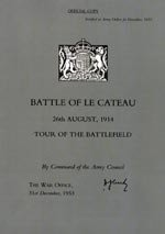 Battle of Le Cateau - Tour of the Battlefield.