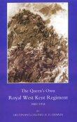 The Queen's Own Royal West Kent Regiment 1881 - 1914 by Lieutenant-Colonel H D Chaplin.