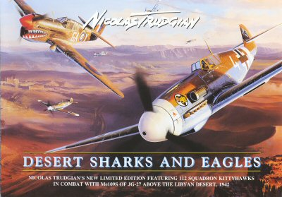 Desert Sharks and Eagles by Nicolas Trudgian (FLY)