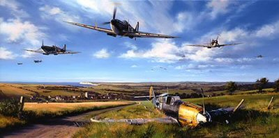 Spitfire Country by Nicolas Trudgian.