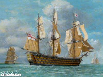 HMS Victory by Barry Price.