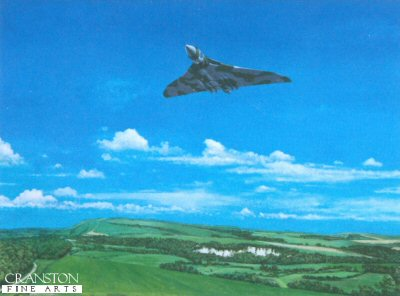 Vulcan Flying Low by Tony Sargeant.