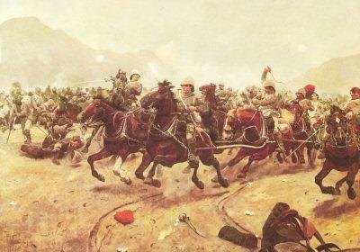 Maiwand : Saving the Guns by Richard Caton Woodville. (PC)