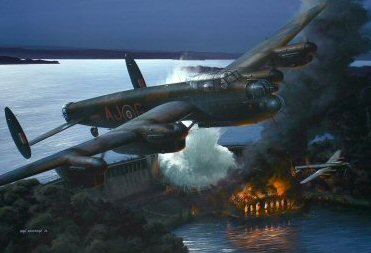 Operation Chastise - The Night They Broke the Dams by Ivan Berryman. (PC)