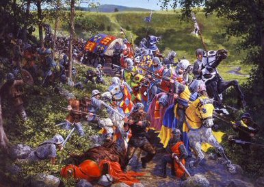 The Battle of Loudon Hill 1296 by Mike Shaw. (PC)