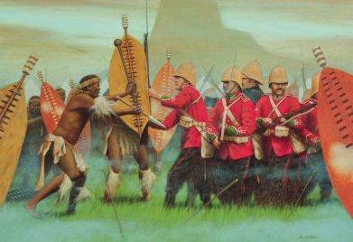 Isandhlwana 22nd January 1879 by Stuart Liptrot. (PC)