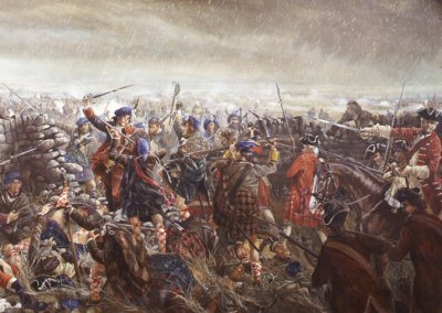 (Detail from) The Battle of Culloden by Mark Churms (PC)