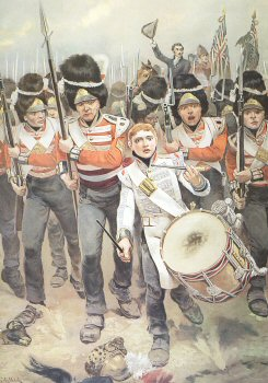 Up Guards, and at Them by Richard Caton Woodville. (PC)