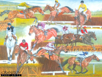 Cheltenham Greats by Peter Deighan.