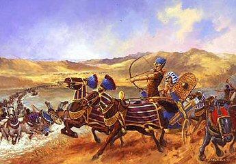 Kadesh (Egyptians v Hittites) by David Pentland. (PC)