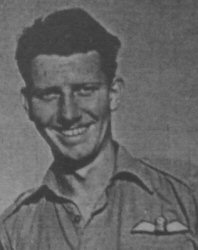 Ray joined the RAF in 1941, completing his training in South Africa. In January 1944 he was posted to 603 Squadron flying Beaufighters in North Africa. Here he teamed up with navigator, Warrant Officer A.E. 'Bert' Winwood, and from where they launched attacks across the Mediterranean into Crete, Greece and the Aegean Islands against shipping, harbour installations and enemy aircraft with much success. In December 1944 they were posted to 235 Squadron Coastal Command, part of the Banff Strike Wing, converting to Mosquitos. In April 1945 they were shot down following a strike in the Kattegat, but avoided capture and with the help of the Danish resistance made it home, where they continued to fly again from Banff
