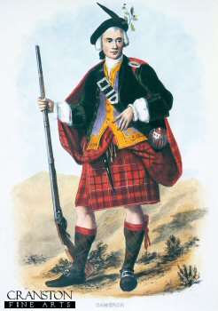 Cameron (Clan Card) by R. R. McIan.