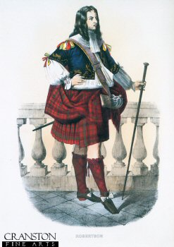 Robertson (Clan Card) by R. R. McIan.
