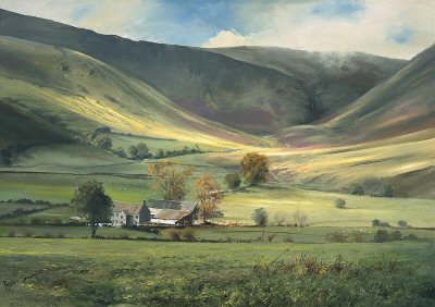 Cautley Spout by Robin Smith.