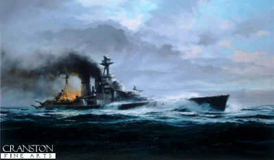 HMS Hood by Robert Taylor.