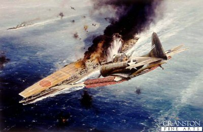 Midway - Strike Against the Akagi by Robert Taylor.
