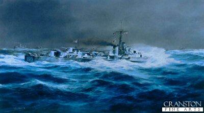 HMS Cavalier by Robert Taylor.