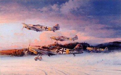 Eagles at Dawn by Robert Taylor.