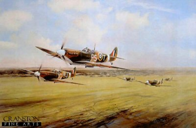 Dawn Scramble by Robert Taylor.