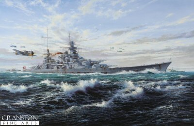 Escort to the Scharnhorst by Simon Atack. (B)