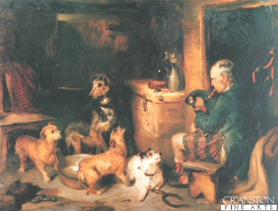 Highland Music by Sir Edwin Landseer.