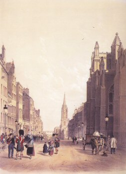 Edinburgh High Street.