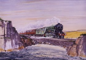 The Flying Scotsman by Robert Barbour.