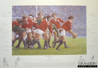 Pride of Lions 74 by Keith Fearon.
