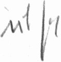 The signature of Adolf Dickfeld (deceased)