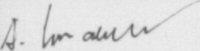 The signature of Dieter Hrabak (deceased)