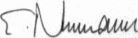 The signature of Oberst Eduard Neumann (deceased)