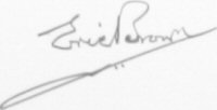 The signature of Eric Winkle Brown (deceased)